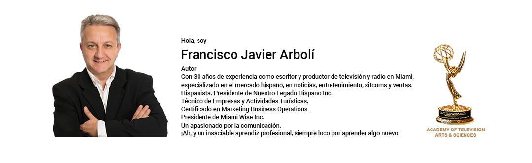 Arbolí.com, para contactar a Francisco Javier Arbolí